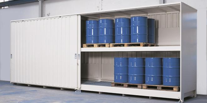 Container di stoccaggio, a ripiani: 6 punti da tenere in considerazione