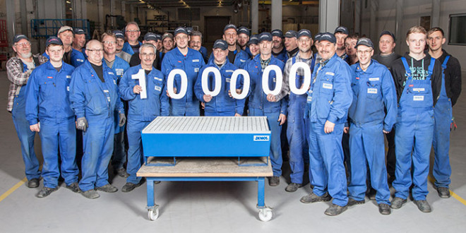 La vasca di raccolta in acciaio n.100.000!