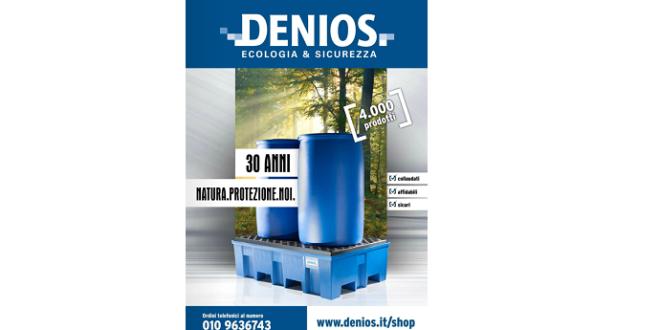 Il nuovo catalogo DENIOS 2016