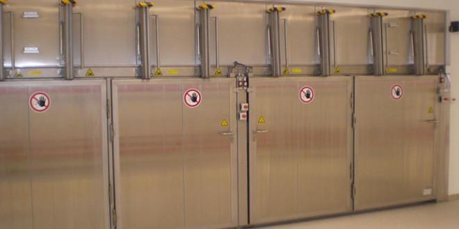 Camera calda per la produzione farmaceutica di GP