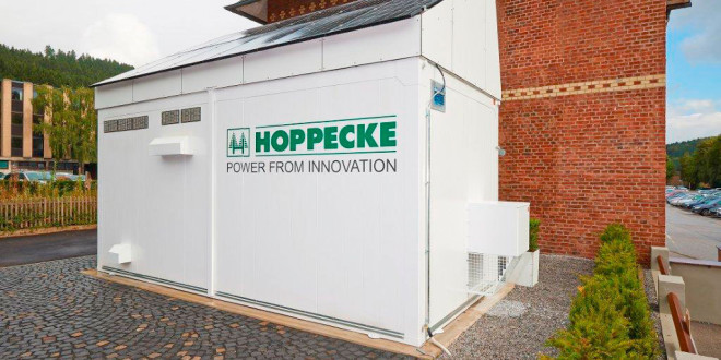 Shelter tecnico showroom per Hoppecke GmbH