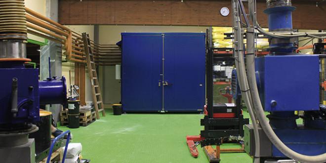 Camera di preriscaldamento per gli additivi utilizzati in produzione