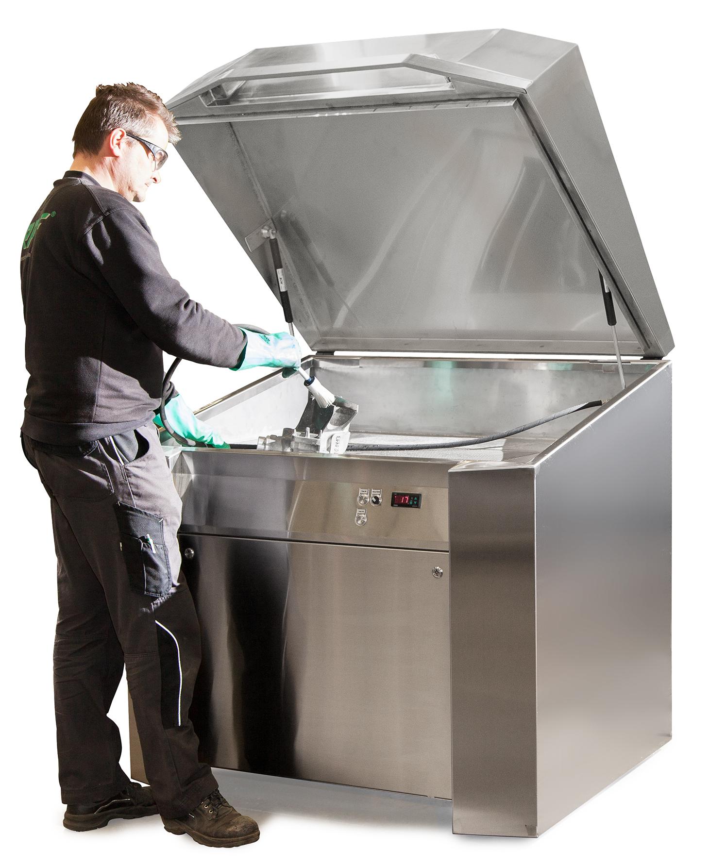 I nuovi sistemi di pulizia lavapezzi versatili e modulari - DENIOS Italia