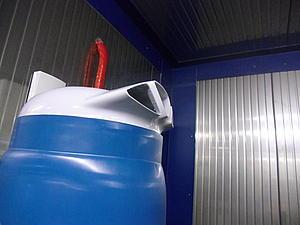 La camera a umido è dotata anche di un sistema di umidificazione ambiente ad acqua nebulizzata