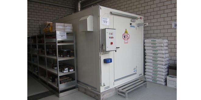 Deposito per liquidi infiammabili nel cuore della produzione di Stadler AG