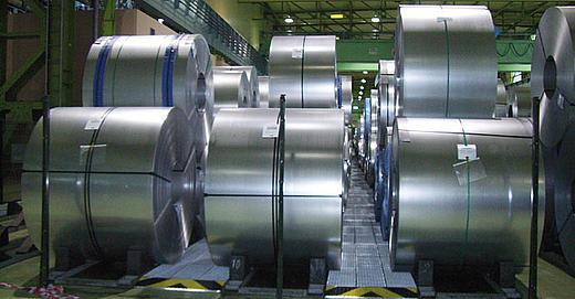 ThyssenKrupp si affida agli elementi di pavimentazione con vasca di raccolta DENIOS