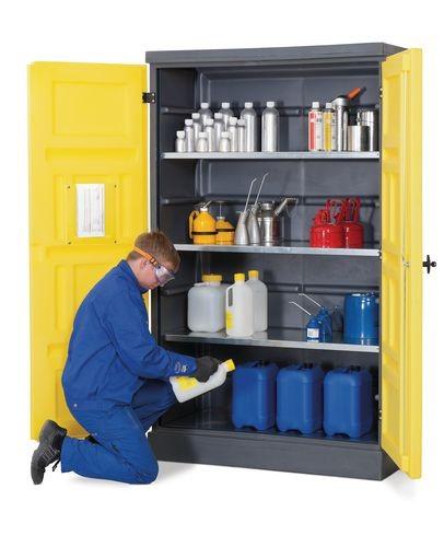 armadio-con vasca di raccolta-polystore-ps-1220-