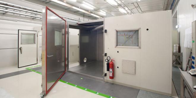 Locale di decontaminazione per il reattore di ricerca dell'Università di Monaco di Baviera