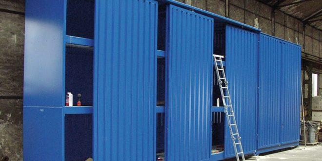 Per lo stoccaggio di oli e grassi Hoesch sceglie i System-Container DENIOS