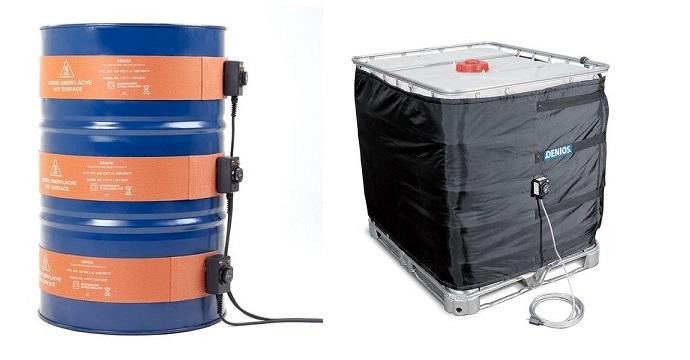 Cinghia di riscaldamento in silicone (ad applicazione plurima) e fascia di riscaldamento per IBC