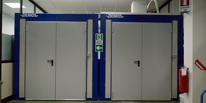 Tre camere climatizzate DENIOS per BASF Construction Chemicals Italia Spa