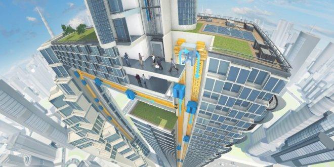 Novità dal mondo: Multi, l'ascensore magnetico senza cavi