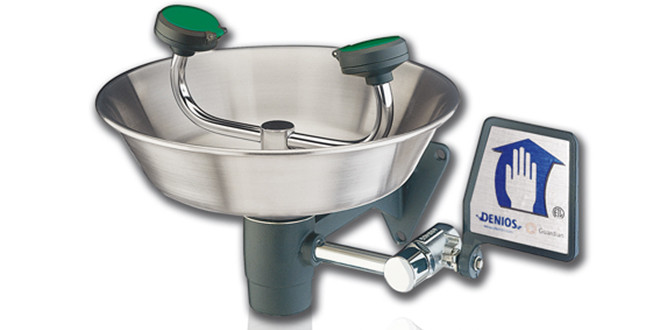 Lavaocchi G1750 con vaschetta in acciaio inox